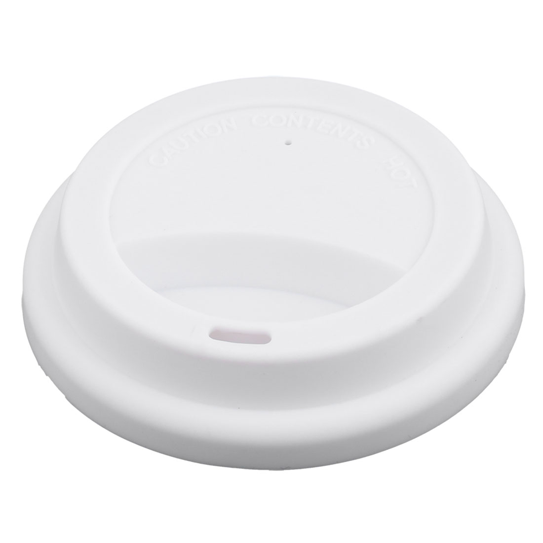 7bf440c888f Family Silicone Round Shaped Resuable Sealed Mug Lid Tea Coffee Cup Cover  White