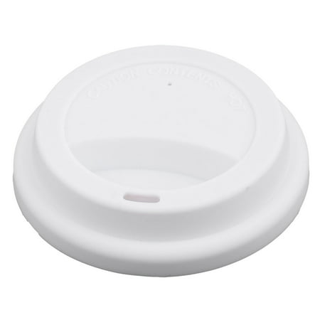 Home White Silicone Round Shaped Resuable Sealed Mug Lid Tea Coffee Cup Cover