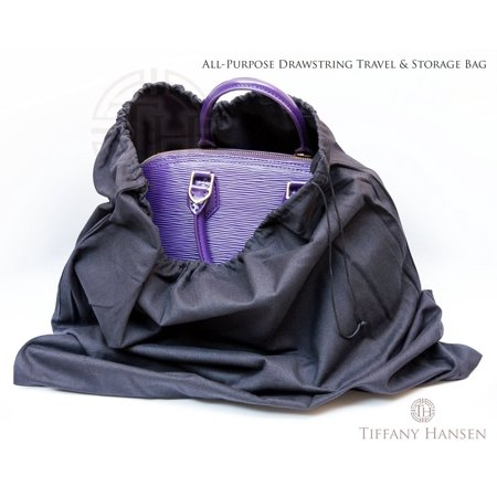 Tiffany Hansen Designs Cotton Large Drawstring Shoe & Purse Travel Storage Bag 4 Pack - Tiffany Purse