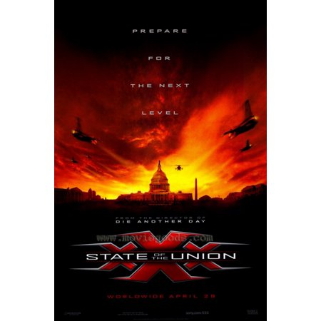 Xxx State Of The Union Movie Poster Print  27 X 40