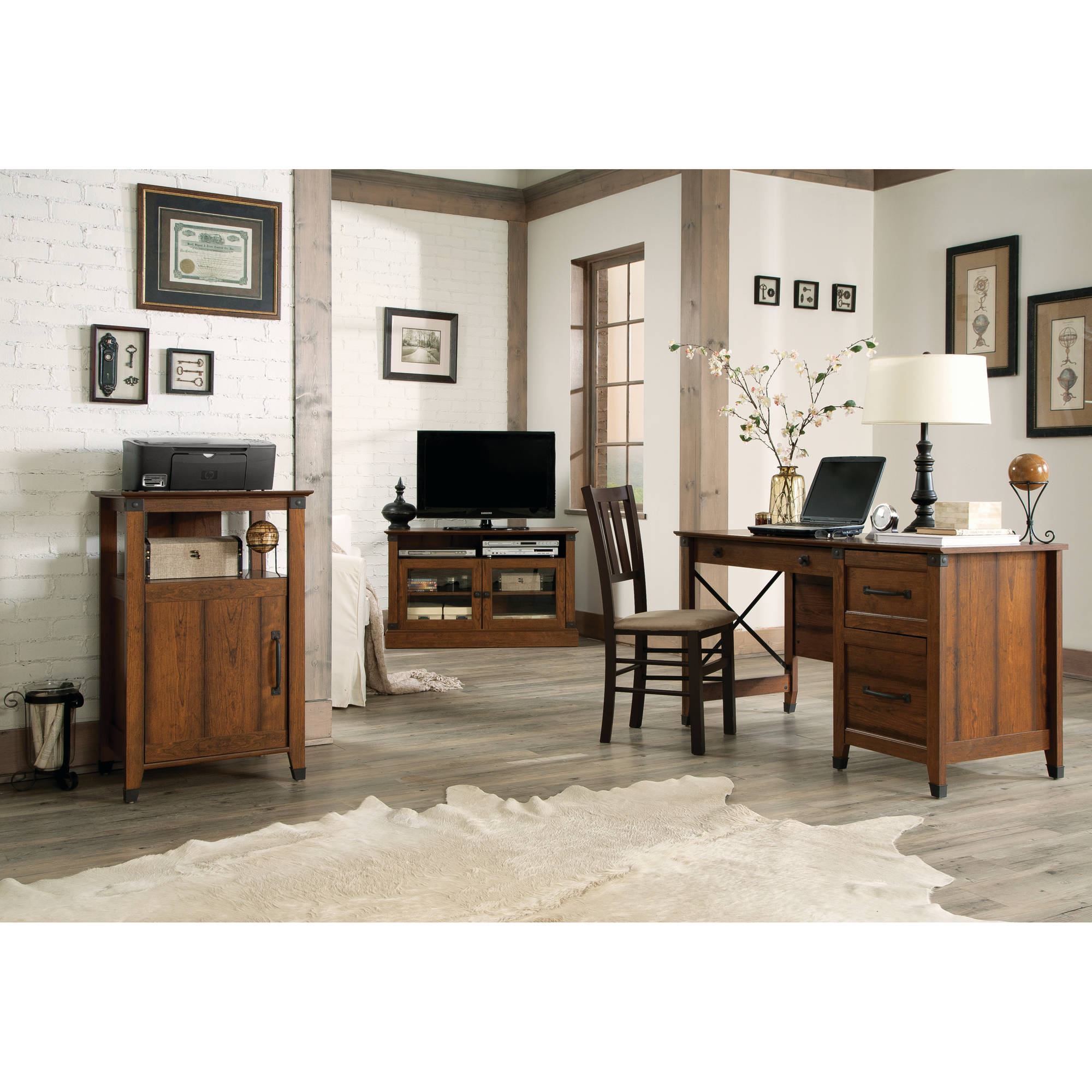 Sauder Carson Forge Office Furniture Collection