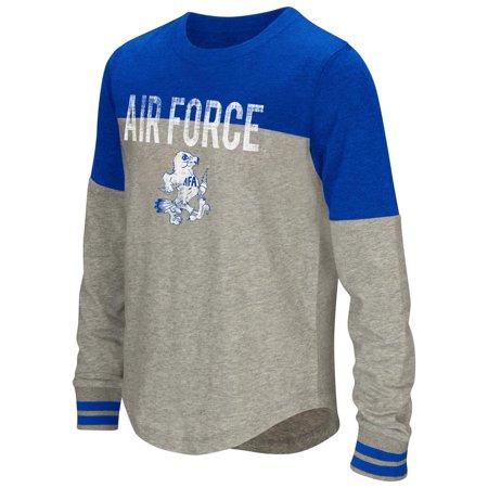 Air Force Falcons (Youth Girls' Baton Air Force Academy Falcons Long Sleeve Shirt)