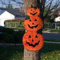 Tree Wrap, Pumpkin Trio