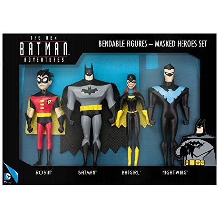DC Comics Batman Adventures Bendable 6' Figure Set Kids Action](Dc Comics Kids)