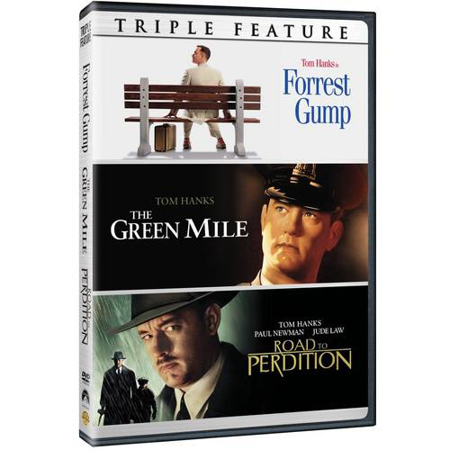 Tom Hanks Triple Feature: Forrest Gump / The Green Mile / Road To Perdition
