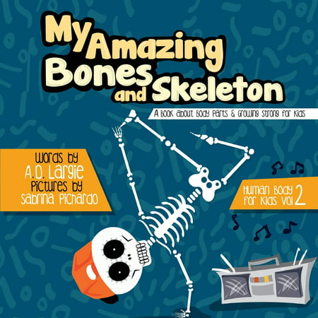 Halloween Kids Clipart (Human Body for Kids: My Amazing Bones and Skeleton: A Book About Body Parts & Growing Strong For Kids: Halloween Books For Learning)