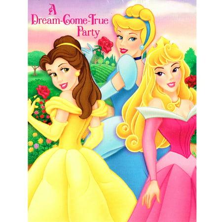- Disney Princess 'Fairy-Tale Friends' Invitations w/ Envelopes (8ct)