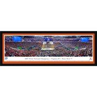 Virginia Cavaliers 2019 NCAA Men's Basketball National Champions 42'' x 15.5'' Select Framed Panoramic