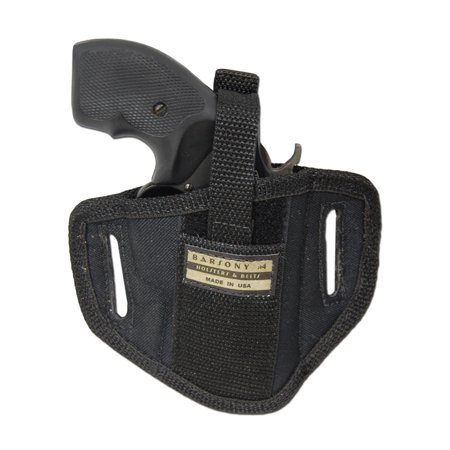 Barsony Ambidextrous Pancake Gun Holster Size 2 Charter Arms Rossi Ruger LCR S&W .22 .38 .357
