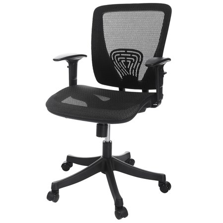 Ancheer High Back Black Mesh Swivel Ergonomic Office Desk Chair