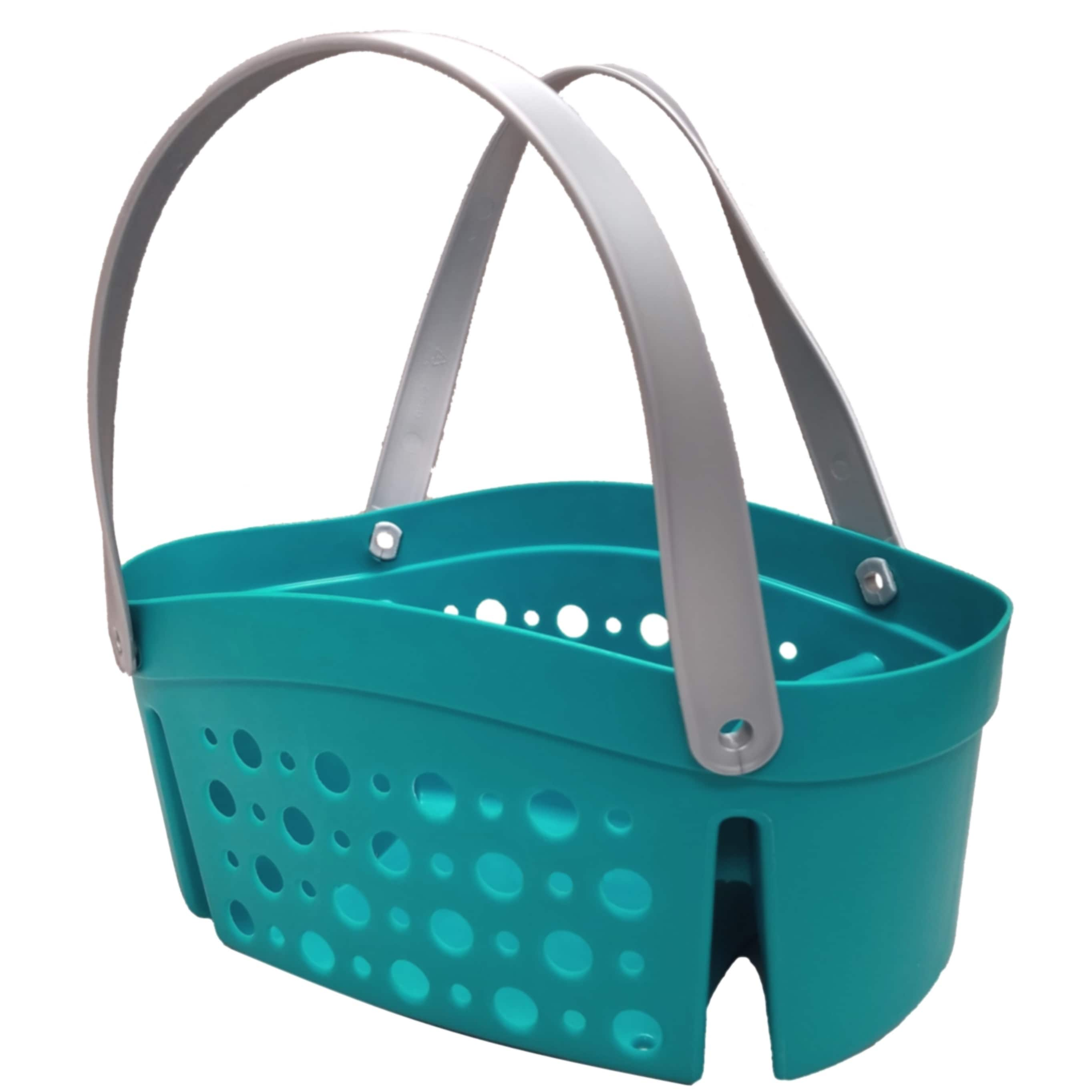 Starplast Flex Shower Caddy / Tote - Teal - Walmart.com
