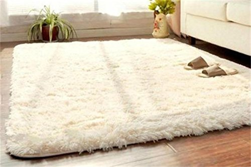 soft fluffy area rugs plush shaggy carpet floor mat for bedroom living room home decor