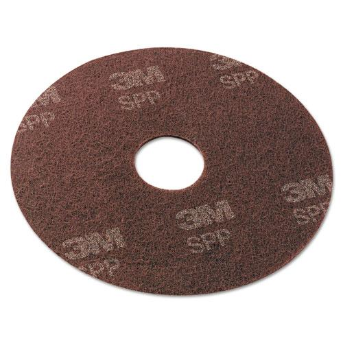 "3M Surface Preparation Pad, 20"", Maroon, 10/Carton"