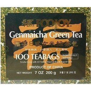 Foojoy Genmai Cha - Brown Rice Green Tea z (pack of 2)