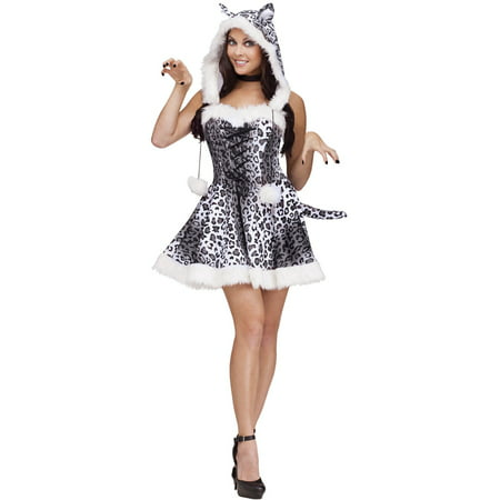 Snow Leopard Adult Costume](Leopard Costumes For Women)