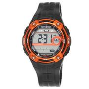 Men's Sport Orange Round Watch
