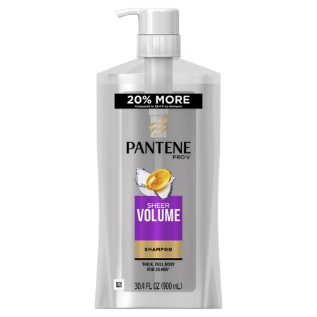 Pantene Pro-V Sheer Volume Shampoo, 30.4 fl oz (Massaud Volume Control)