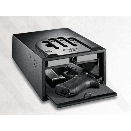 GUNVAULT MICRO VAULT SECURITY SAFE 5.25X8.25X12 BLACK