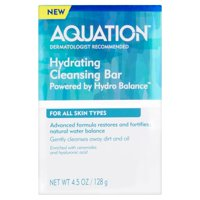 Aquation Hydro Balance Hydrating Cleansing Bar for All Skin Types, 4.5 Oz.