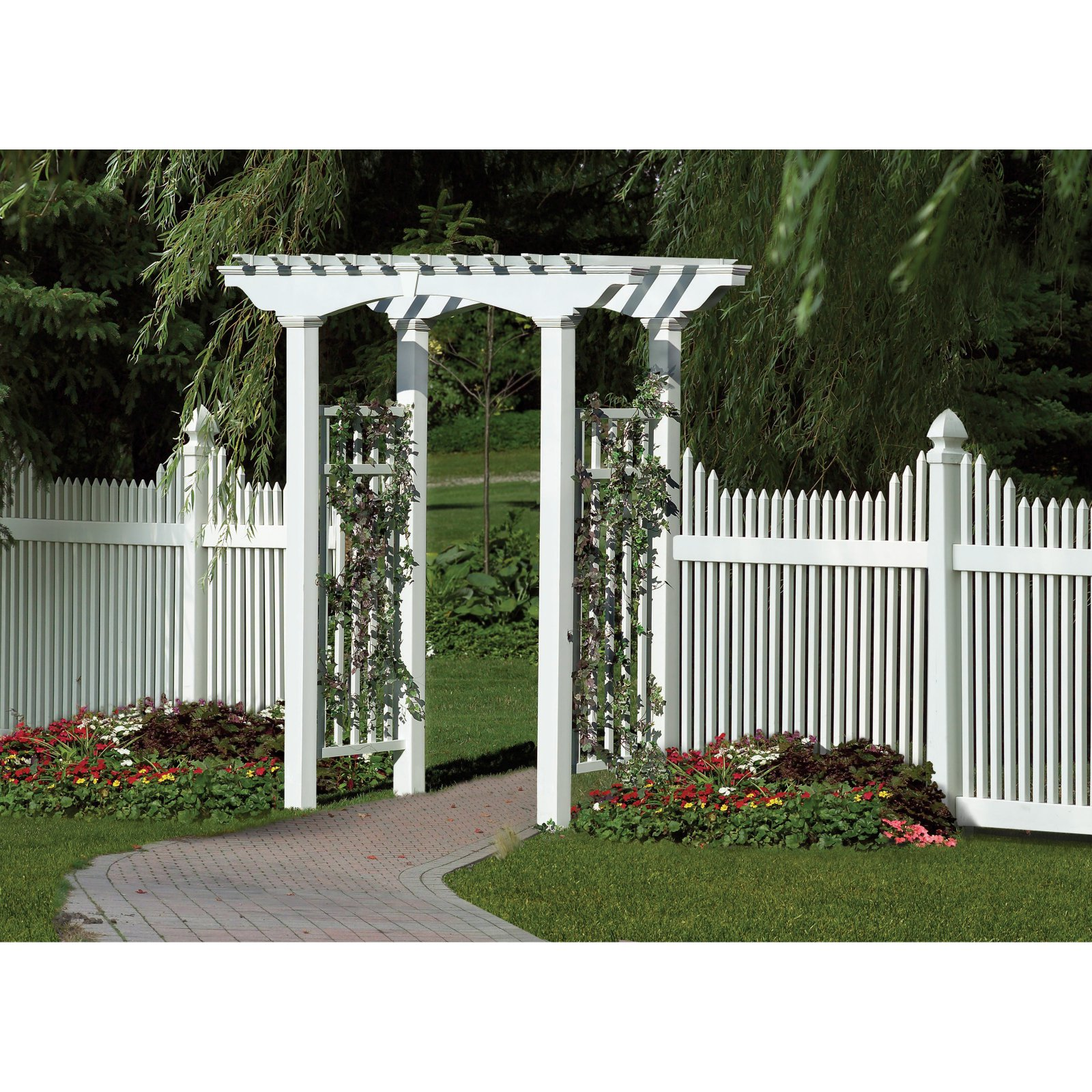 New England Arbors Newport 8-ft. Arbor by New England Arbors