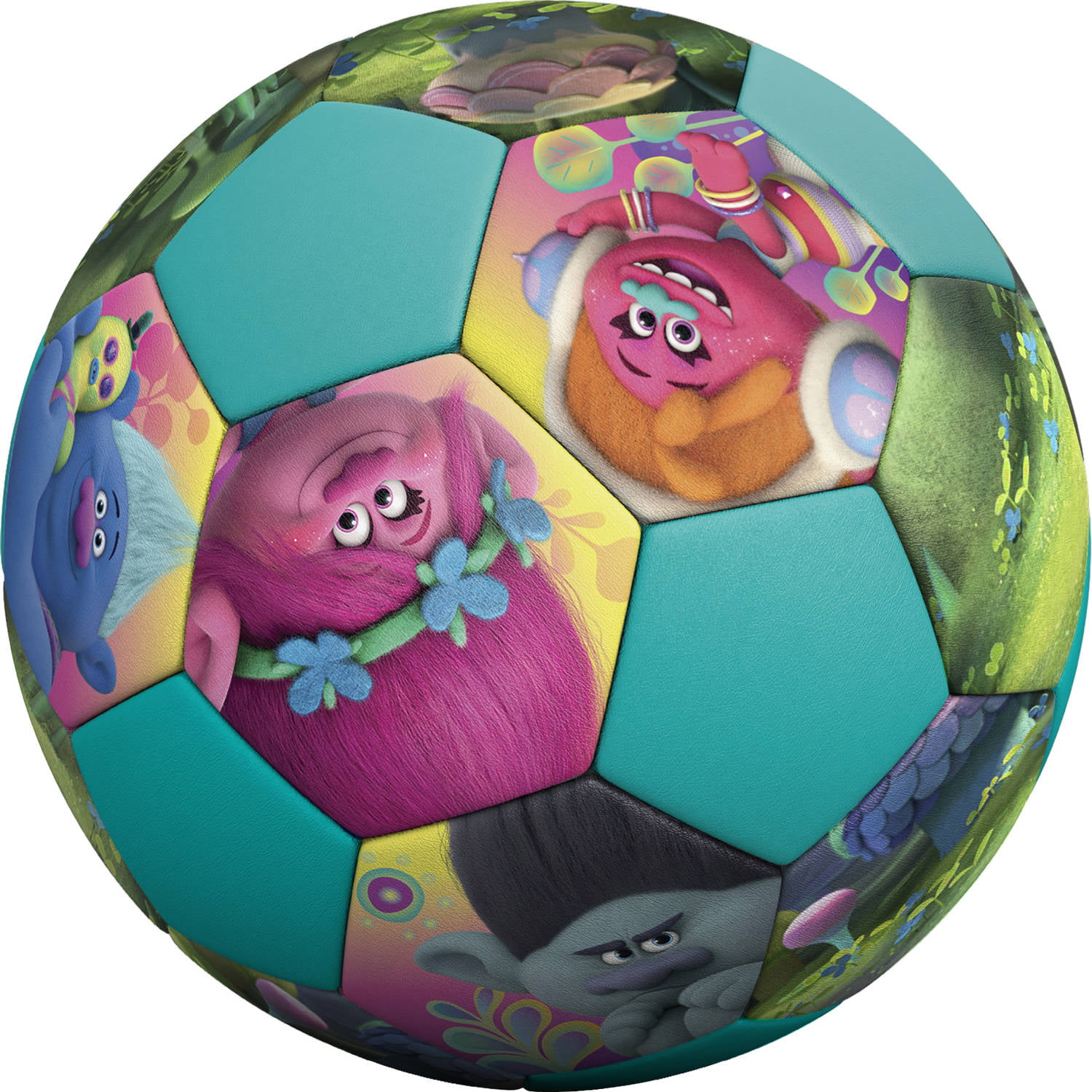 Jr. Athletic Dreamworks Trolls PVC Soccer Ball by
