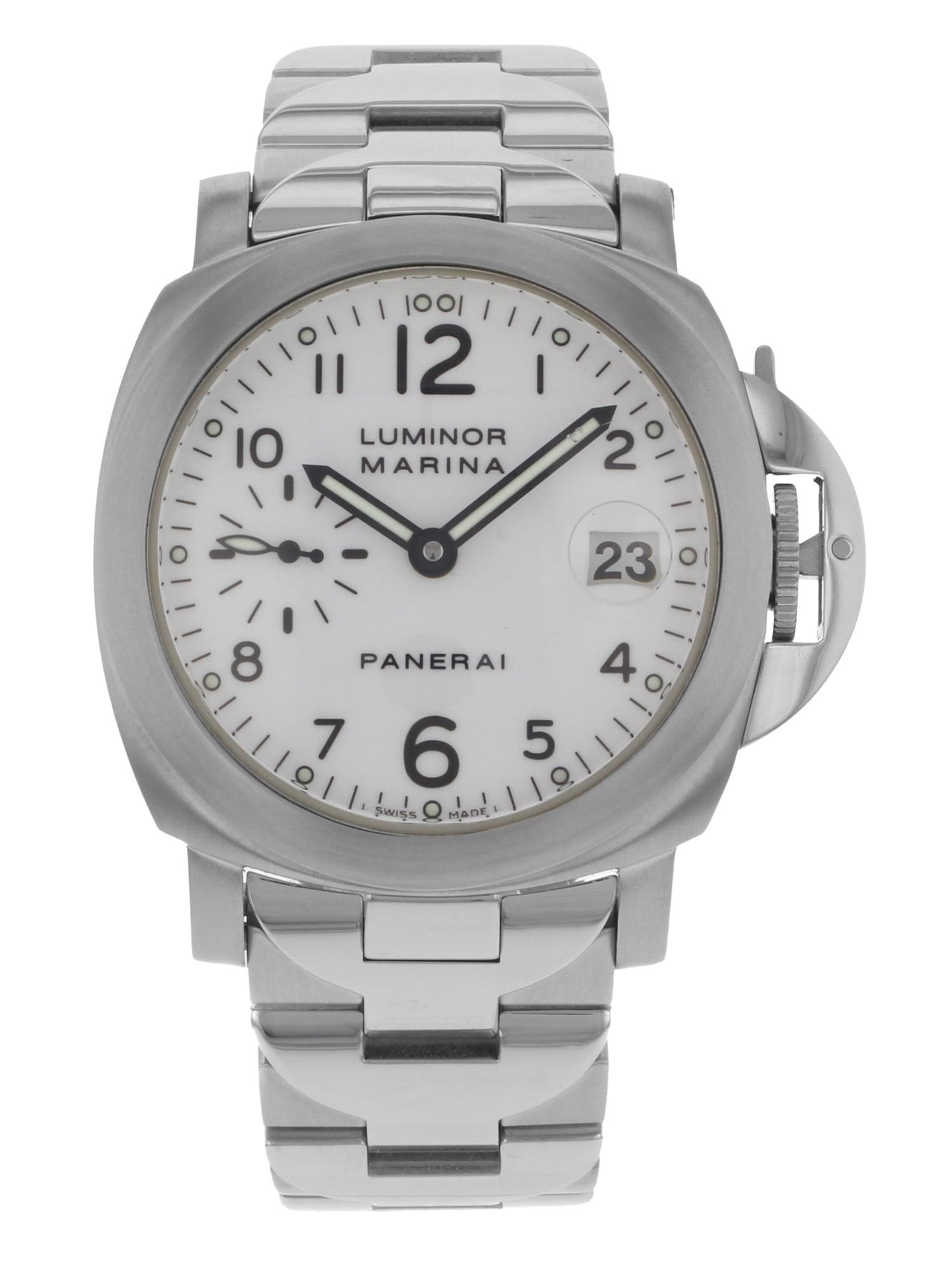 Pre-Owned Panerai Luminor Marina PAM00051 Stainless Steel Automatic Men's Watch