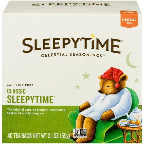 Celestial Seasonings Sleepytime Caffeine Free Herbal Tea, 40 ct