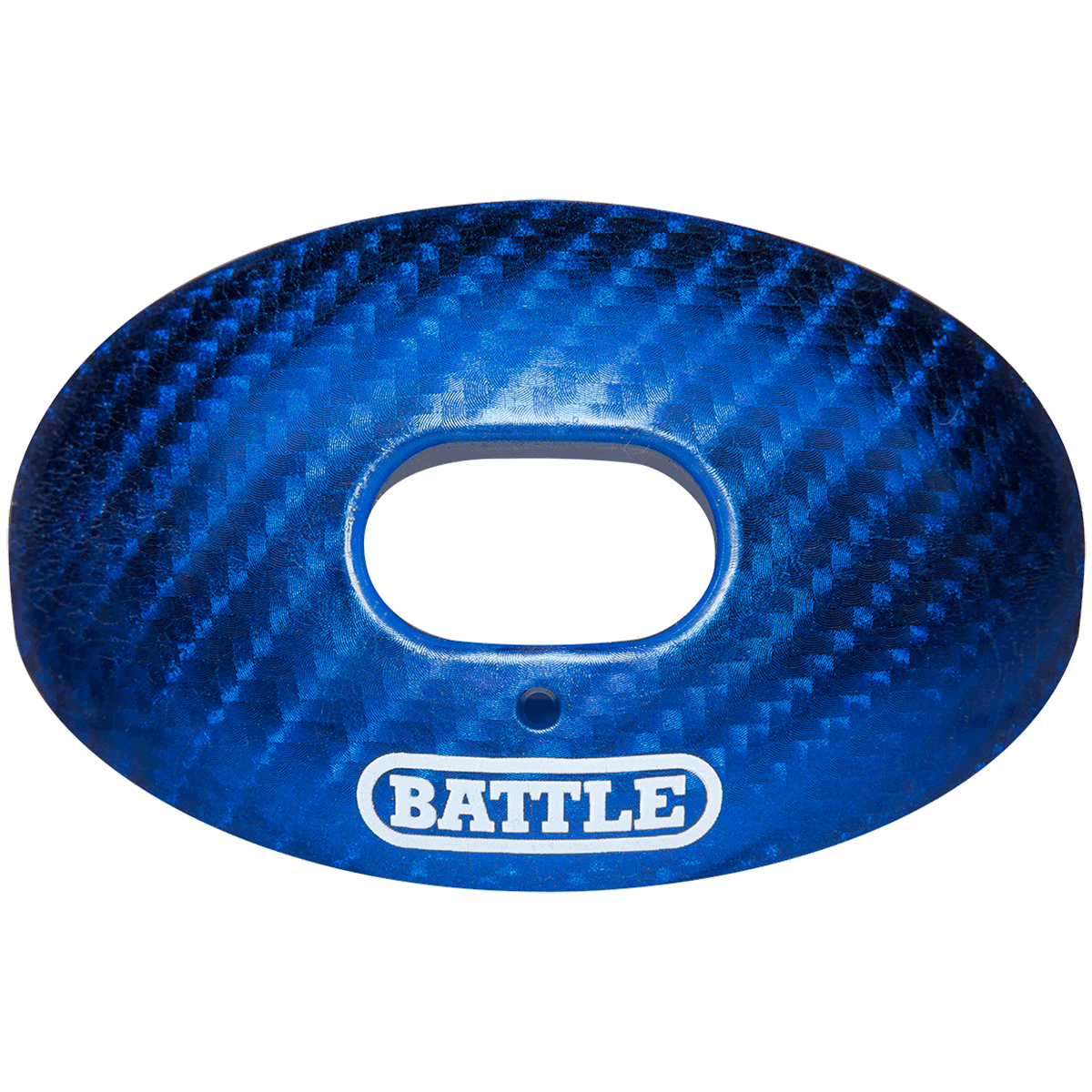 Battle Sports Science Carbon Chrome Oxygen Lip Protector Mouthguard with Strap