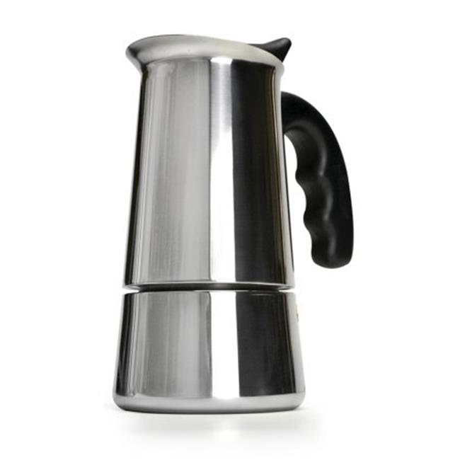 6 Cup Stainless Steel Stovetop Espresso Maker