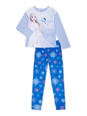 Frozen 2 Girls Exclusive Long Sleeve 2-Piece Pajama Set, Sizes 4-12