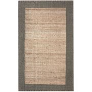 nuLOOM Hand Woven Cameron Jute Area Rug or Runner