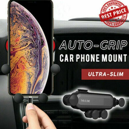 Auto Air Vent Grip Gravity Phone Holder Universal Smartphone Cell Phone Support Stand Car Phone (Universal Air Vent)