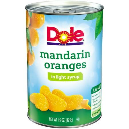 dole mandarin oranges in light syrup 15 oz can walmartcom