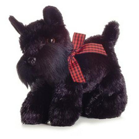"Scotty Mini Flopsie 8"" Aurora Plush Scottish Terrier Dog"