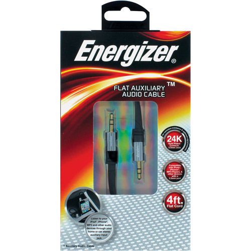 Energizer Auxiliary Cable - Superthin - 4 Feet