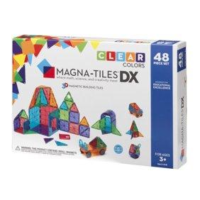 Magna Tiles Clear Colors 48 Piece Dx Set