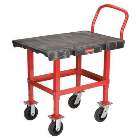 Work Height Platform Truck,2000 lb.