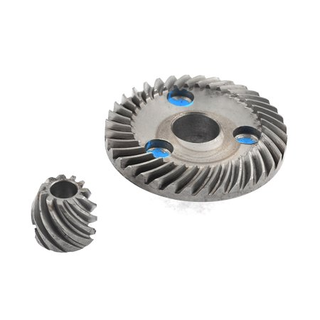 Unique Bargains Spiral Bevel Gear Ring Pinion Set for Matika 9523 Angle Grinder