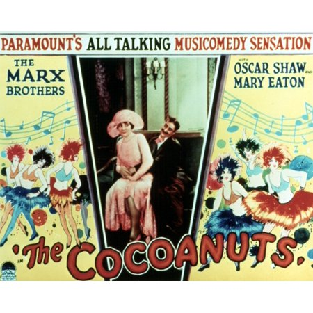 Groucho Letters (The Cocoanuts Margaret Dumont Groucho Marx 1929 Movie Poster Masterprint )