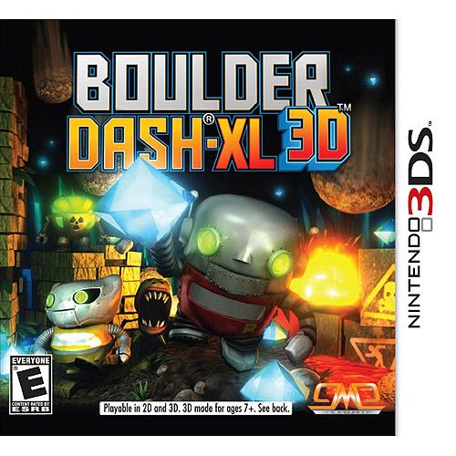 Boulder Dash-Xl (Nintendo 3DS)