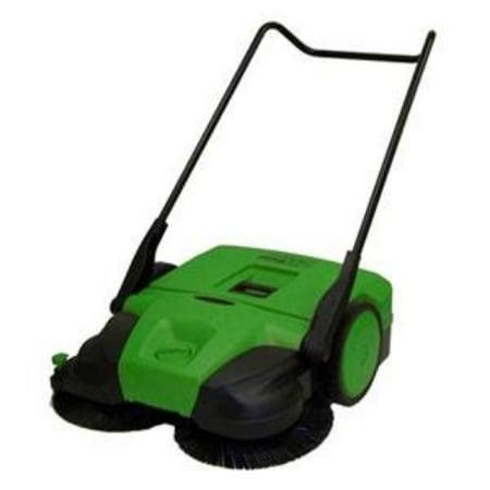 Biggreen Push Power Sweeper Bg-477 - 13.20 Gal (bg477)