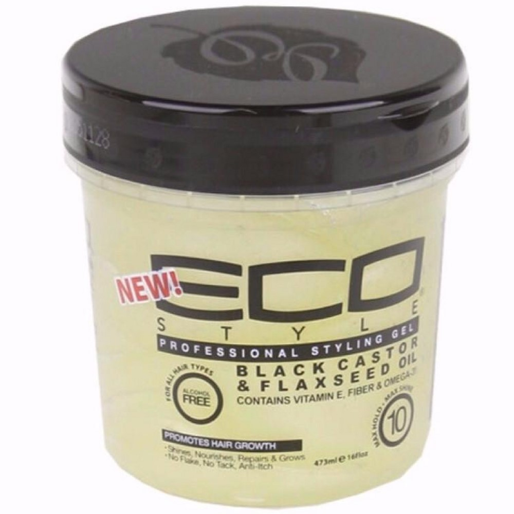 styling hair with eco styler gel eco styler black castor amp flaxseed gel 16 oz walmart 9073