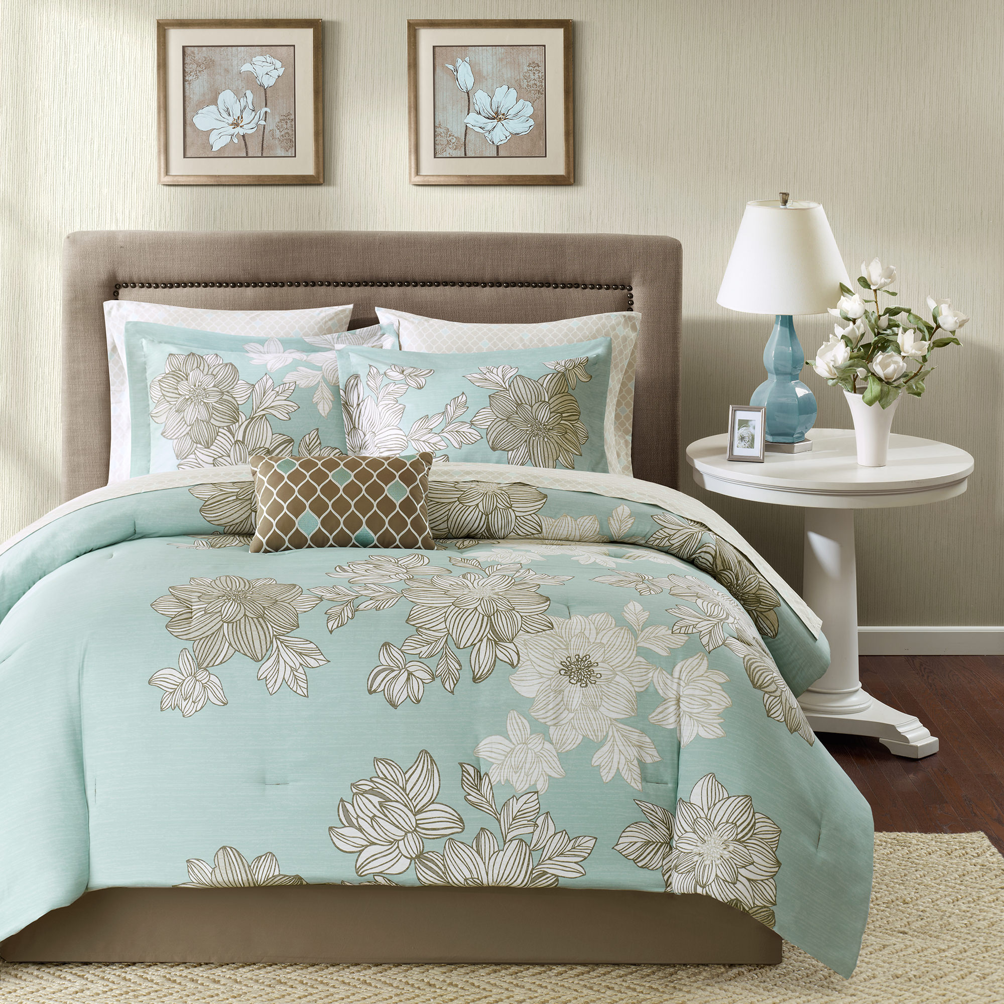 Home Essence Cornell Bed in a Bag Comforter Bedding Set