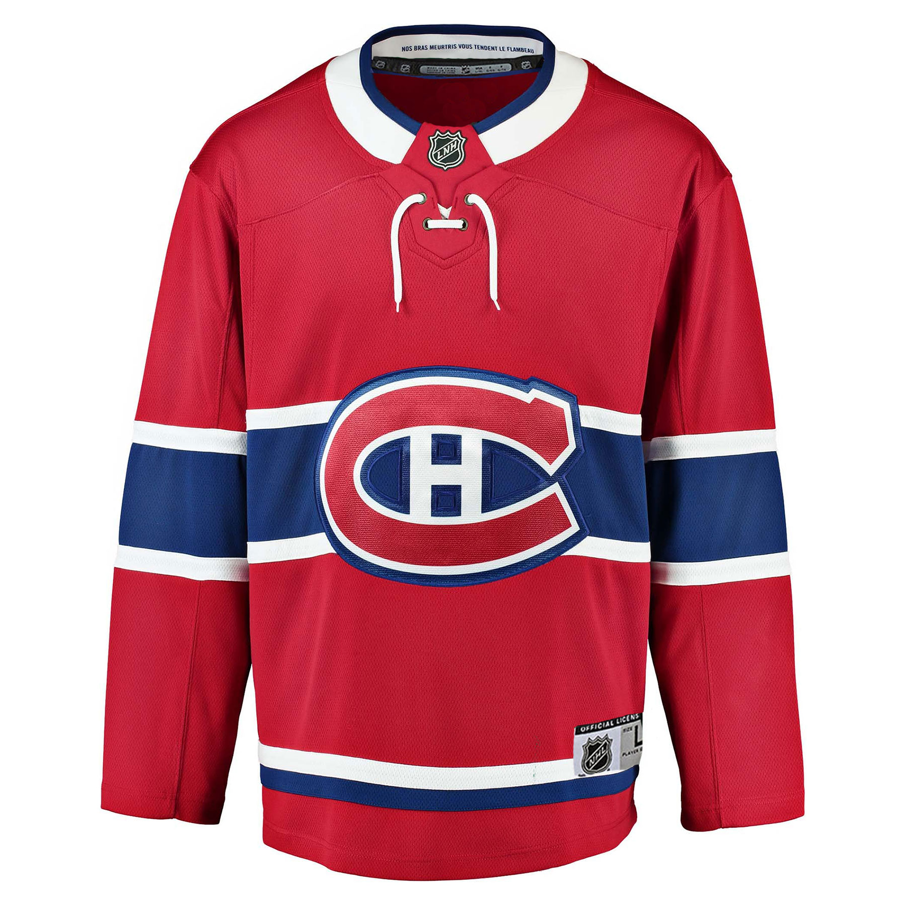 best cheap 29055 30f00 Montreal Canadiens NHL Premier Youth Replica Home Hockey Jersey - NHL Team  Apparel