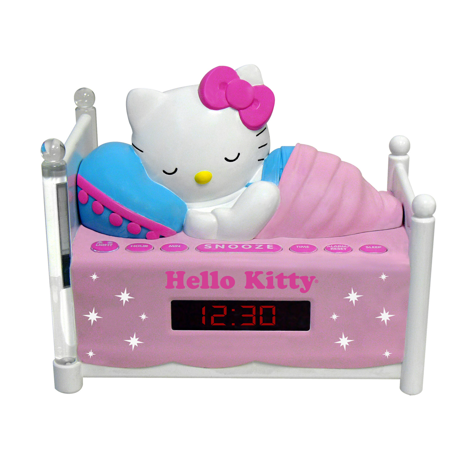 Hello Kitty Sleeping Kitty Alarm Clock Radio with Night Light by Hello Kitty