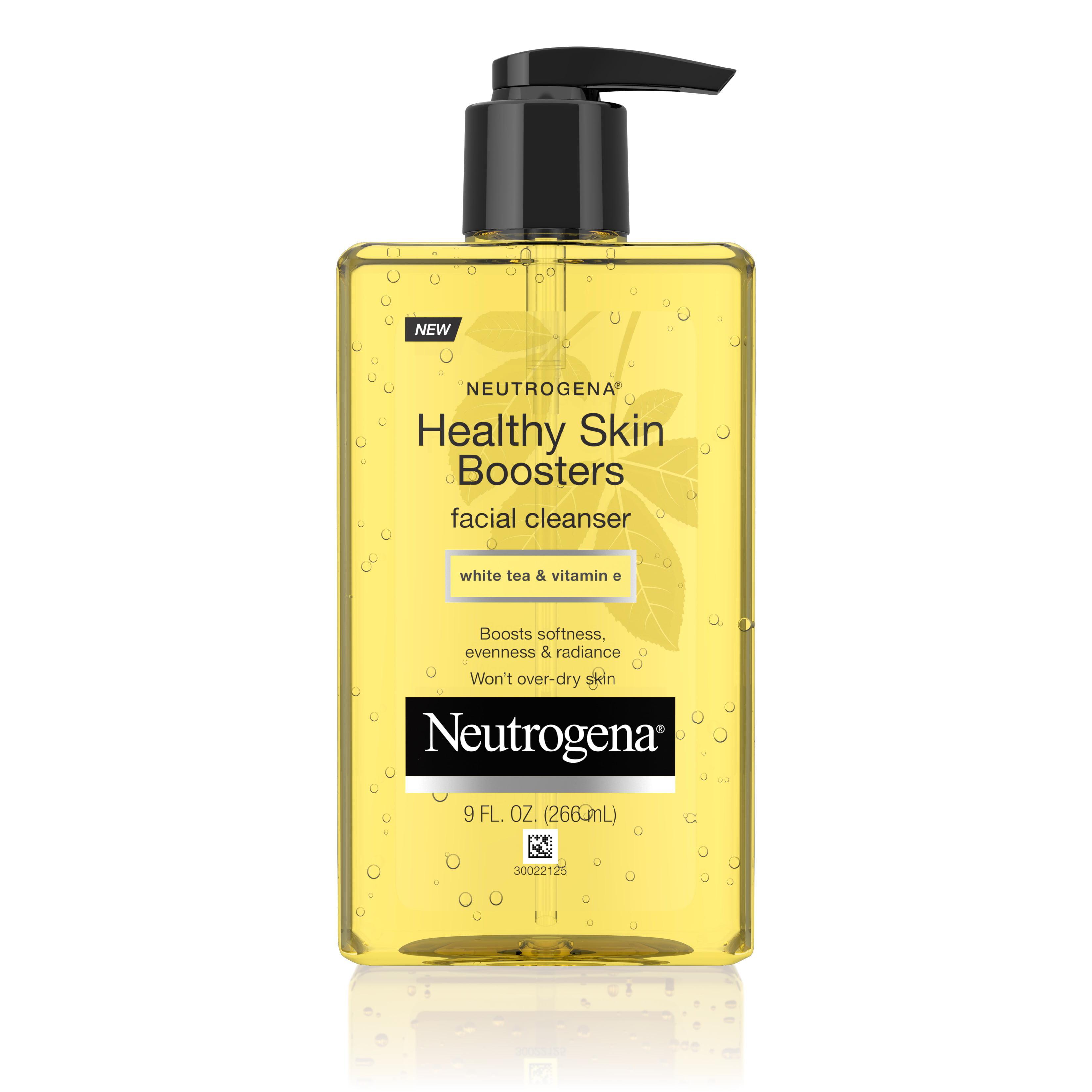 Neutrogena Healthy Skin Boosters Facial Cleanser, 9 Fl. Oz - Walmart.com