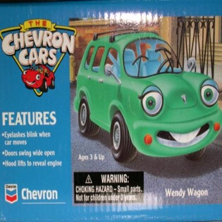 Chevron Cars Wendy Wagon, Car 2 in Series, (Chevron Car)