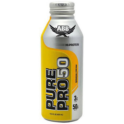 Image of ABB Pure Pro Pro 50, Banana Cream, 12 CT