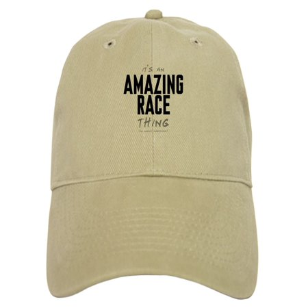 CafePress - It's A Amazing Race Thing - Printed Adjustable Baseball Cap