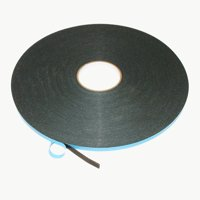 JVCC DC-WGT-01 Double-Sided Window Glazing Tape: 1/16 in. thickness x 3/8 in. x 50 yds. (Black)